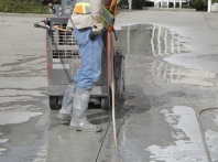 Concrete Slab Saw Cutting